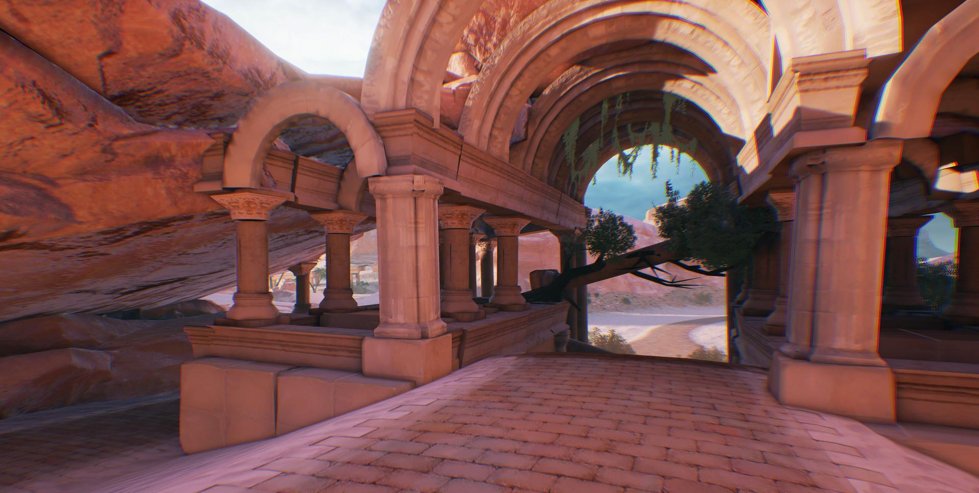 Florian thomasset desert temple 3