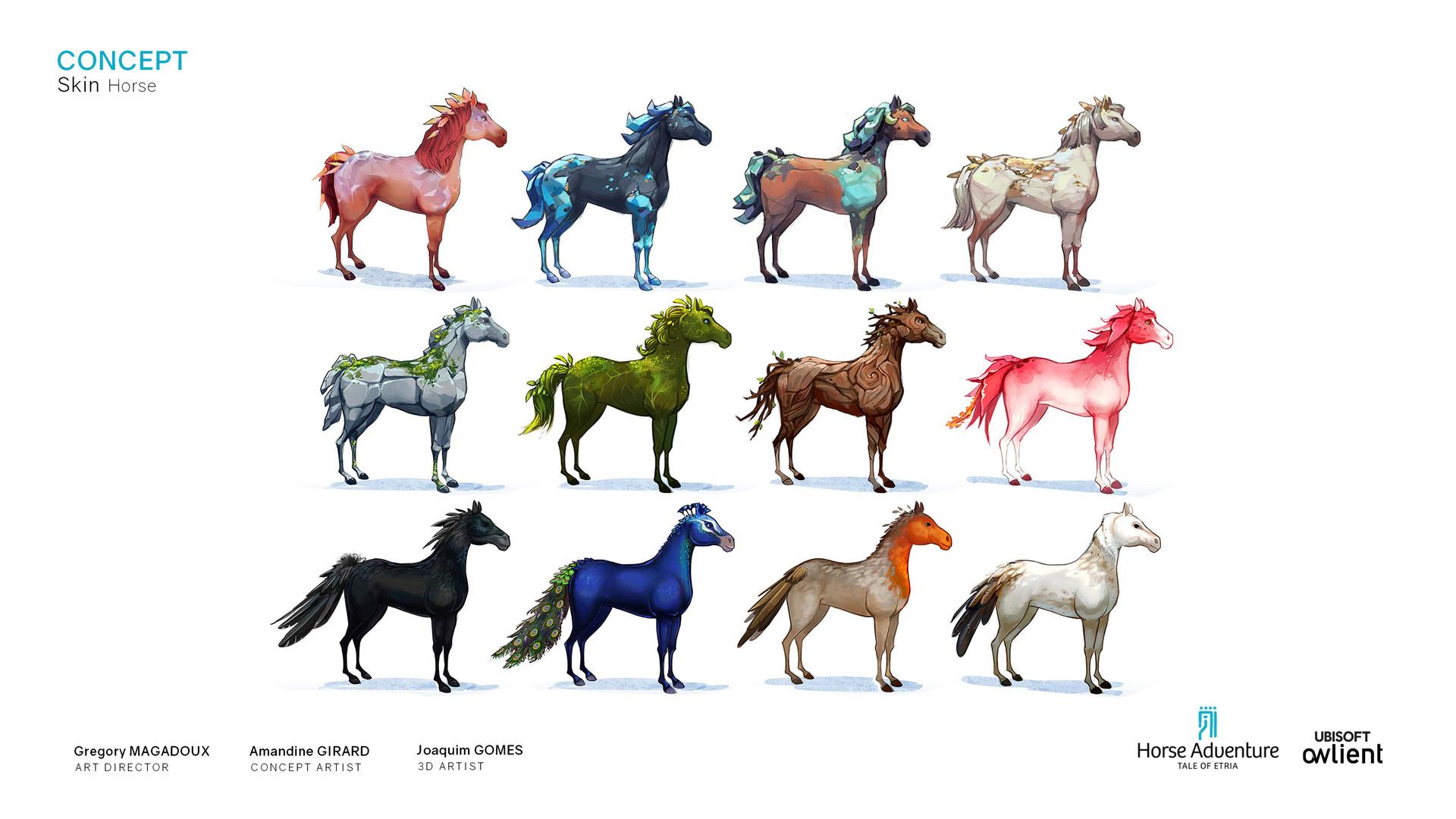 Koni amandine girard amandine girard koni horseadventure horse concept