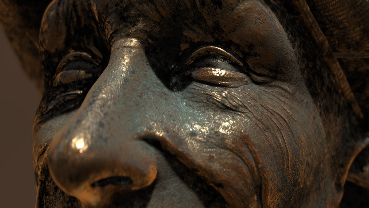 Golfer Substance Painter Closeup 02