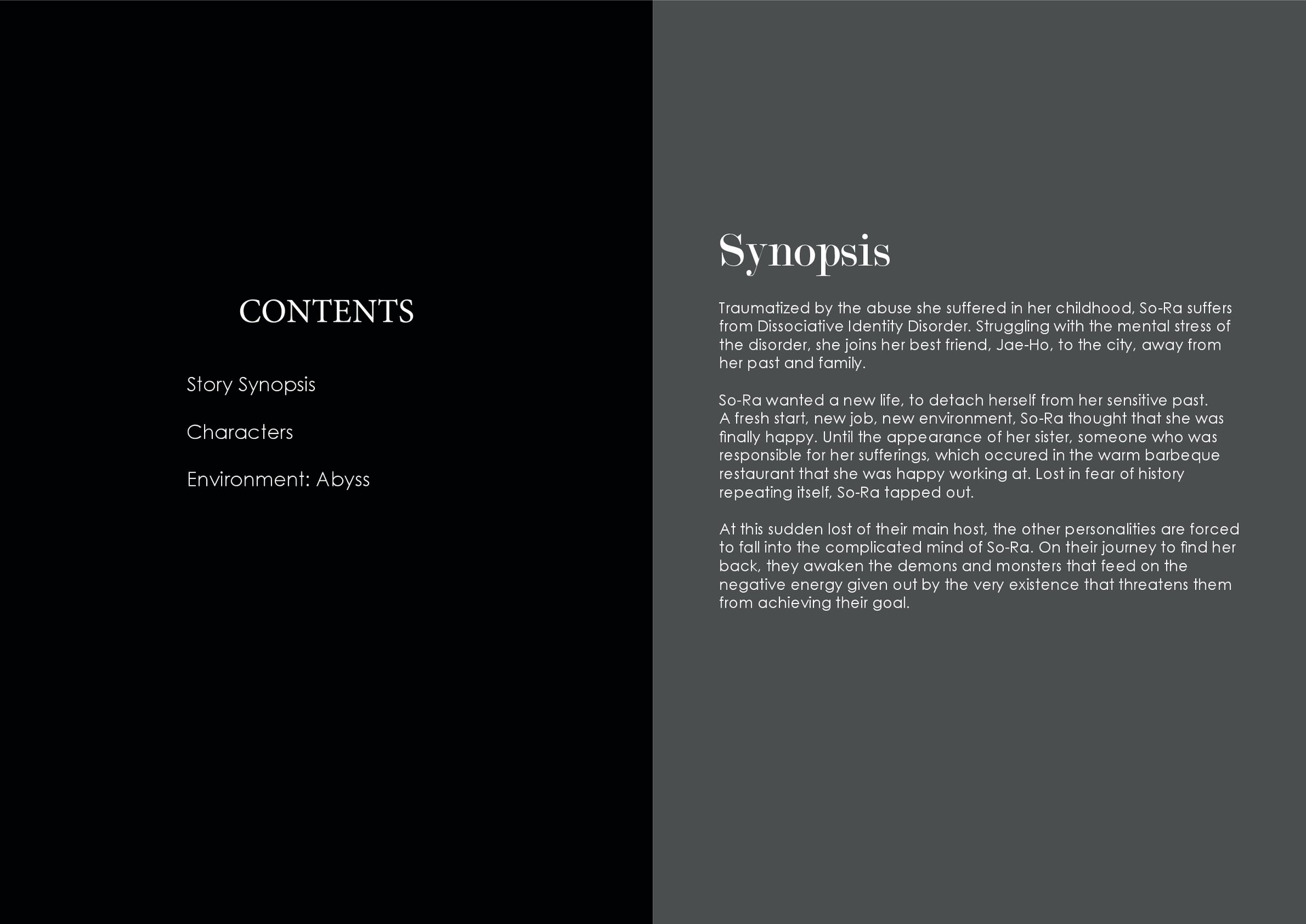 Artstation Evanescence Original Story And Concept Art Sandy Mui