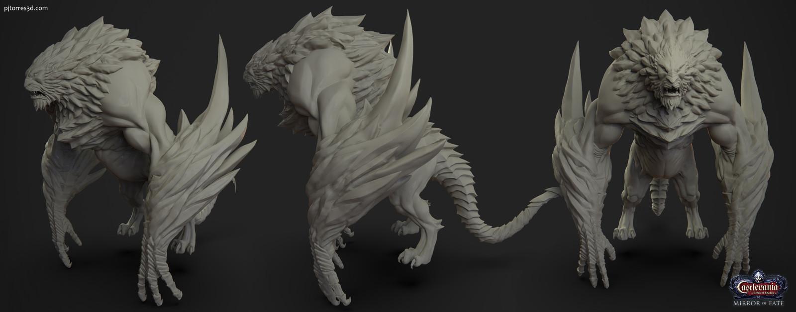 Daemon Lord - Boss sculpt