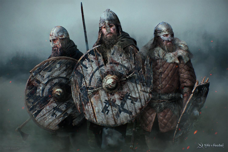 Life is Feudal - Shieldmen