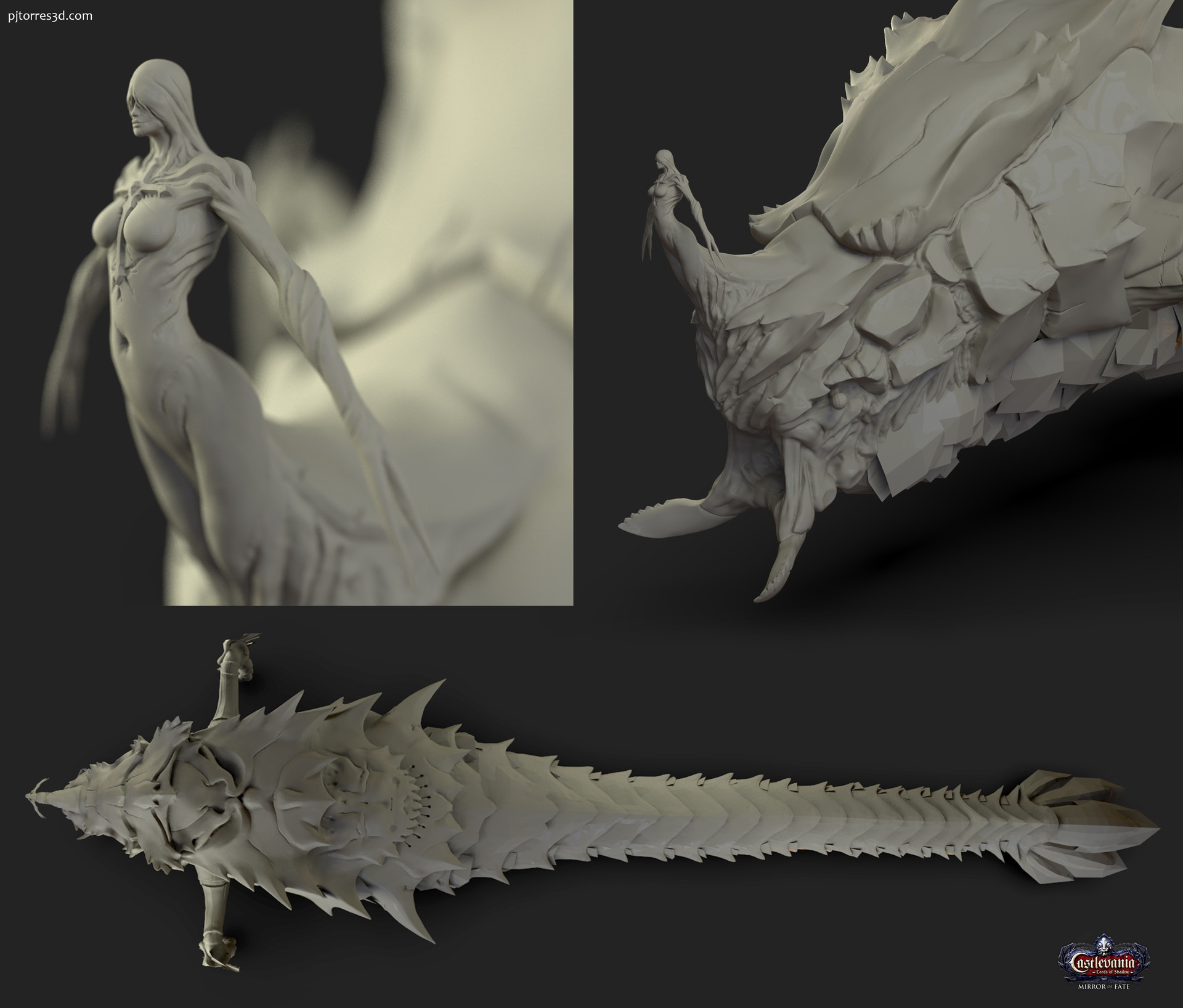 Lady of the crypt - Boss sculpt