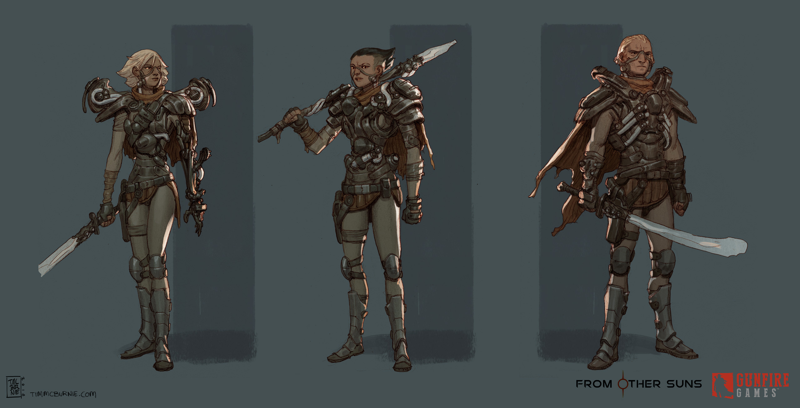 More ideas for space pirates.