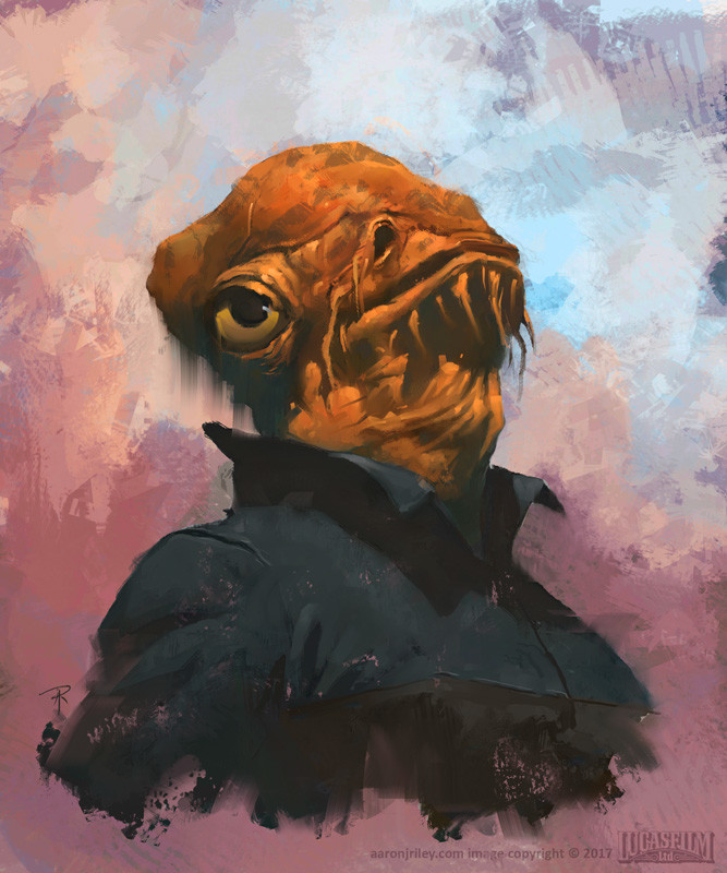 Admiral Ackbar _ Battle for Jakku