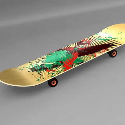 Justin snyder skateboard for port
