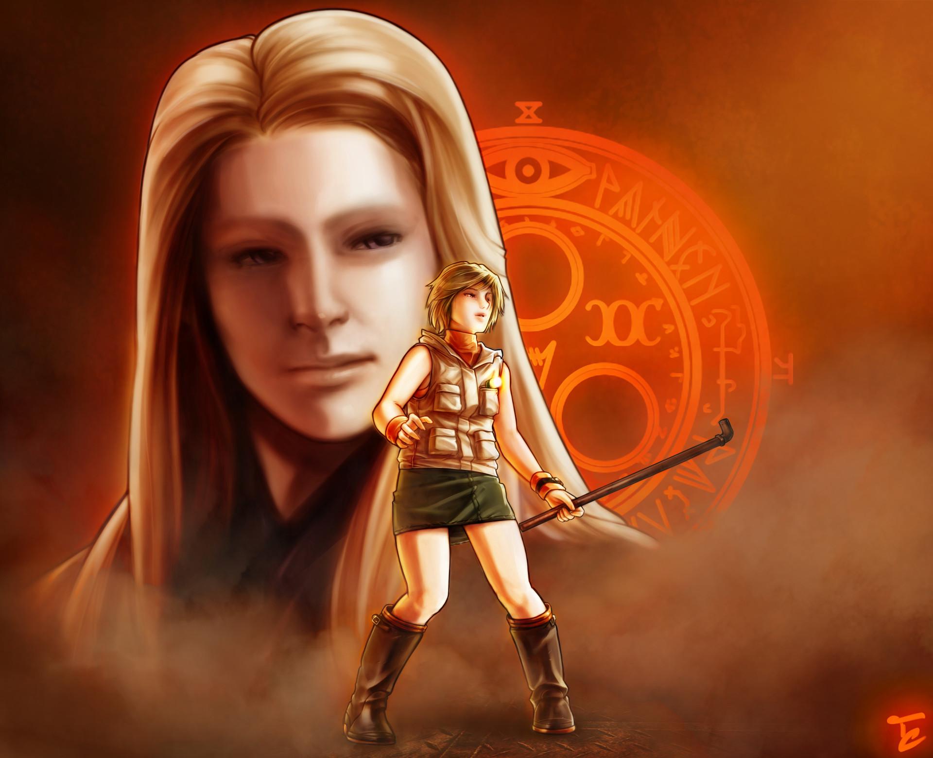 Artstation Silent Hill 3 Christian Tartaglia
