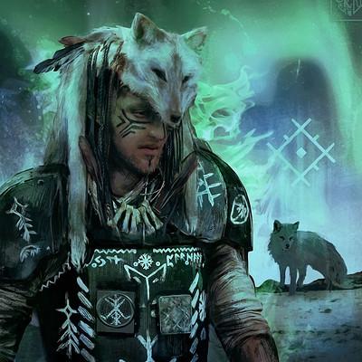 Reliah a arctic fox