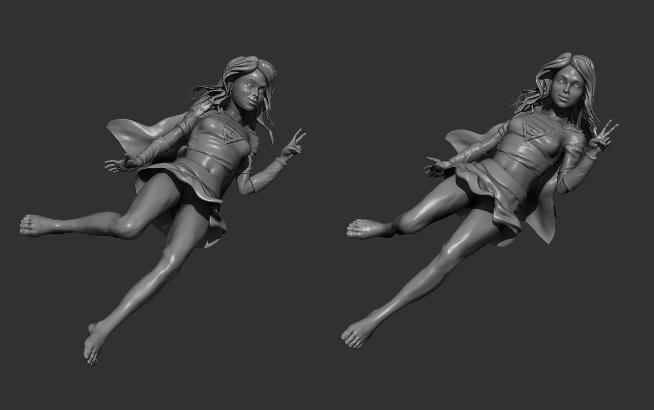 Chris rena zbrush renders wip