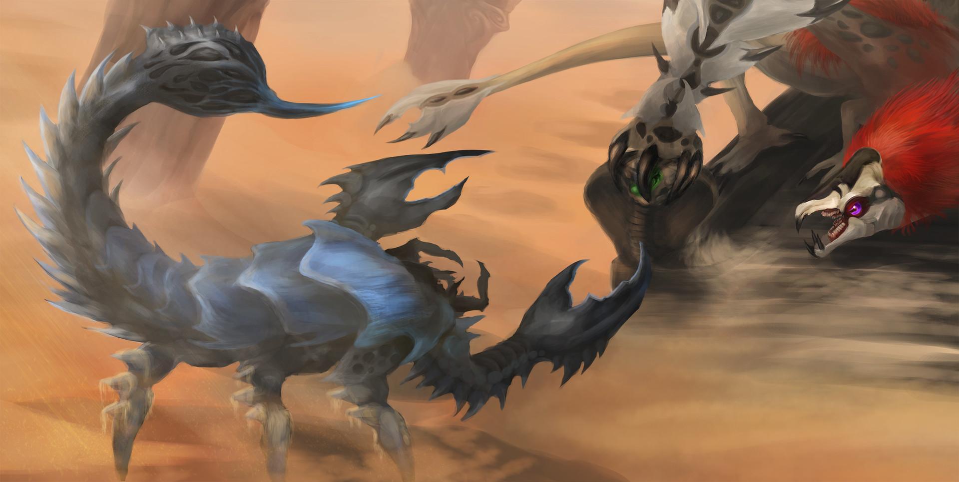 Orm irian scorpion