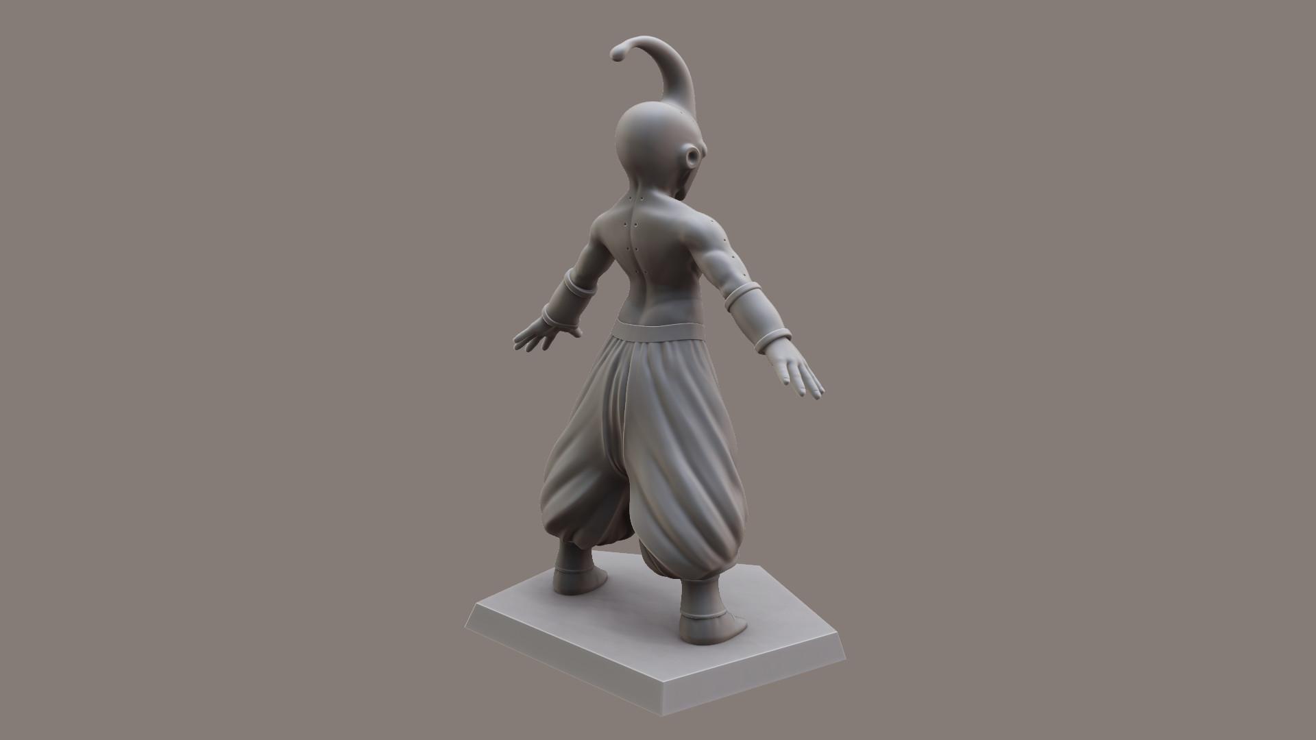 Benjamin makki kid buu sculpt benjamin makki buu render 03 altavistaventures Image collections