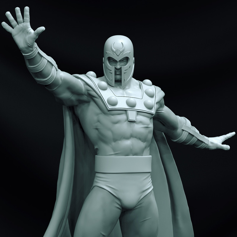 Magneto - Art Scale 1/10 - Iron Studios