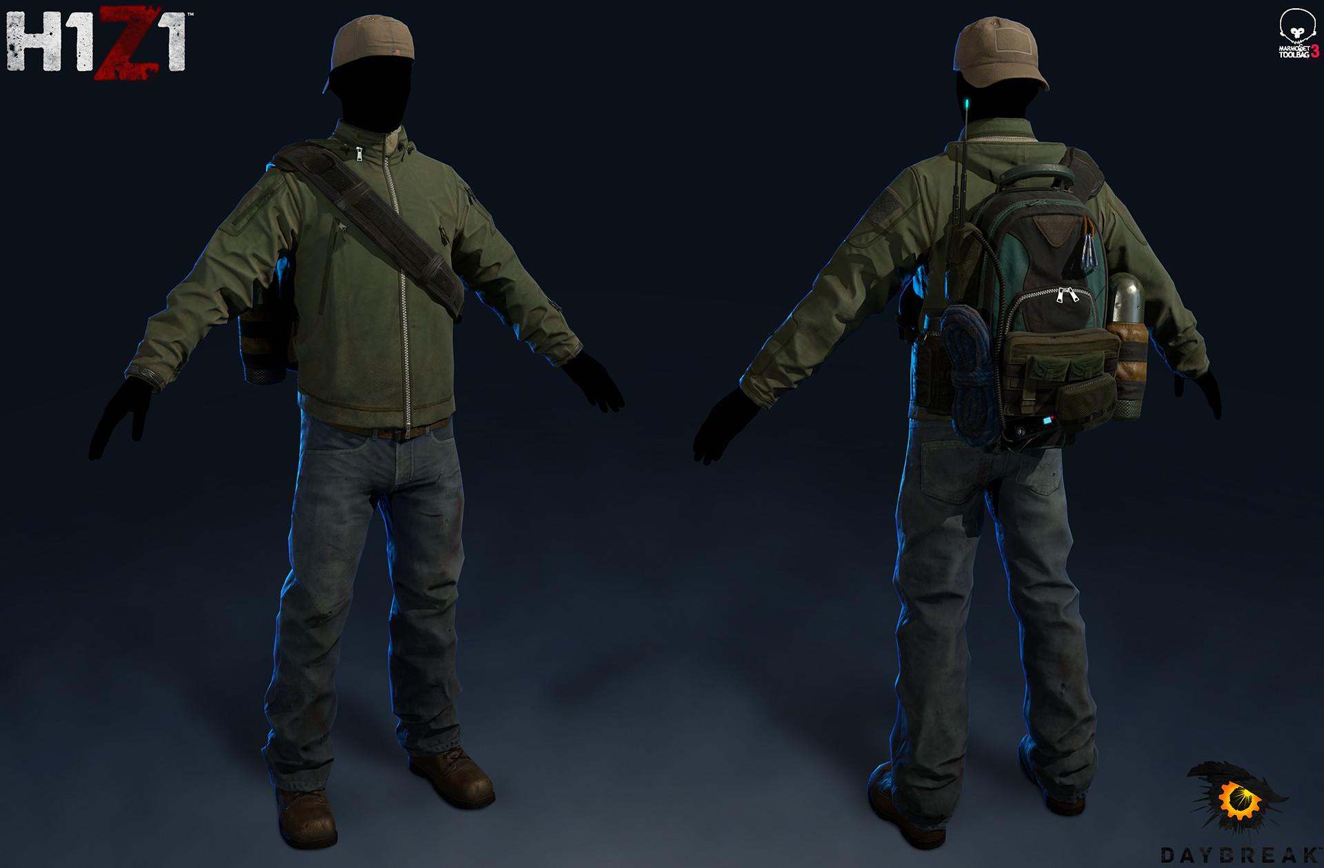 Satoshi arakawa tac jacket outfit marmoset