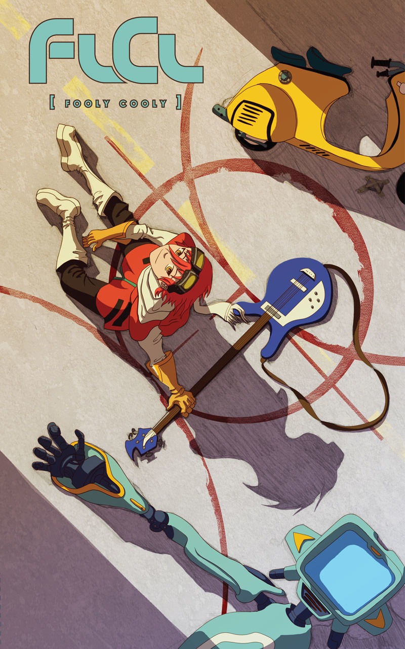 FLCL (Fooly Cooly) Poster