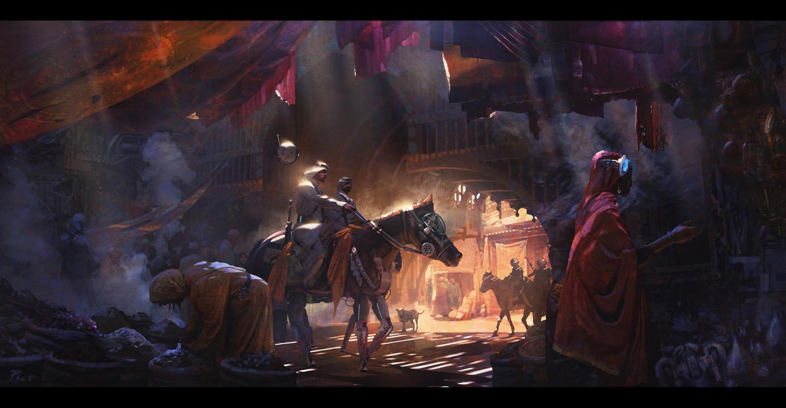 Marrakesh Market 2095