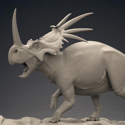 Alberto camara styracosaurus2
