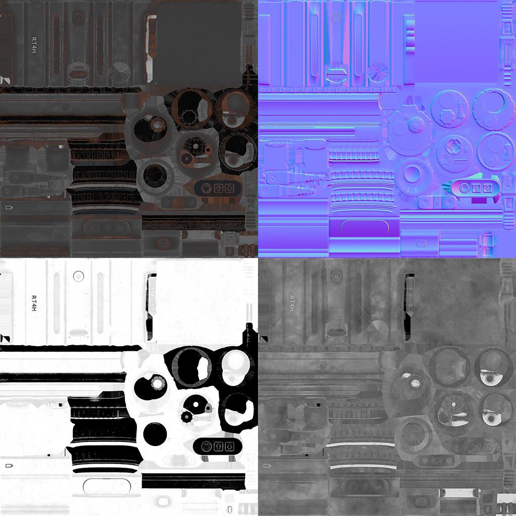 Reddot texture sheet