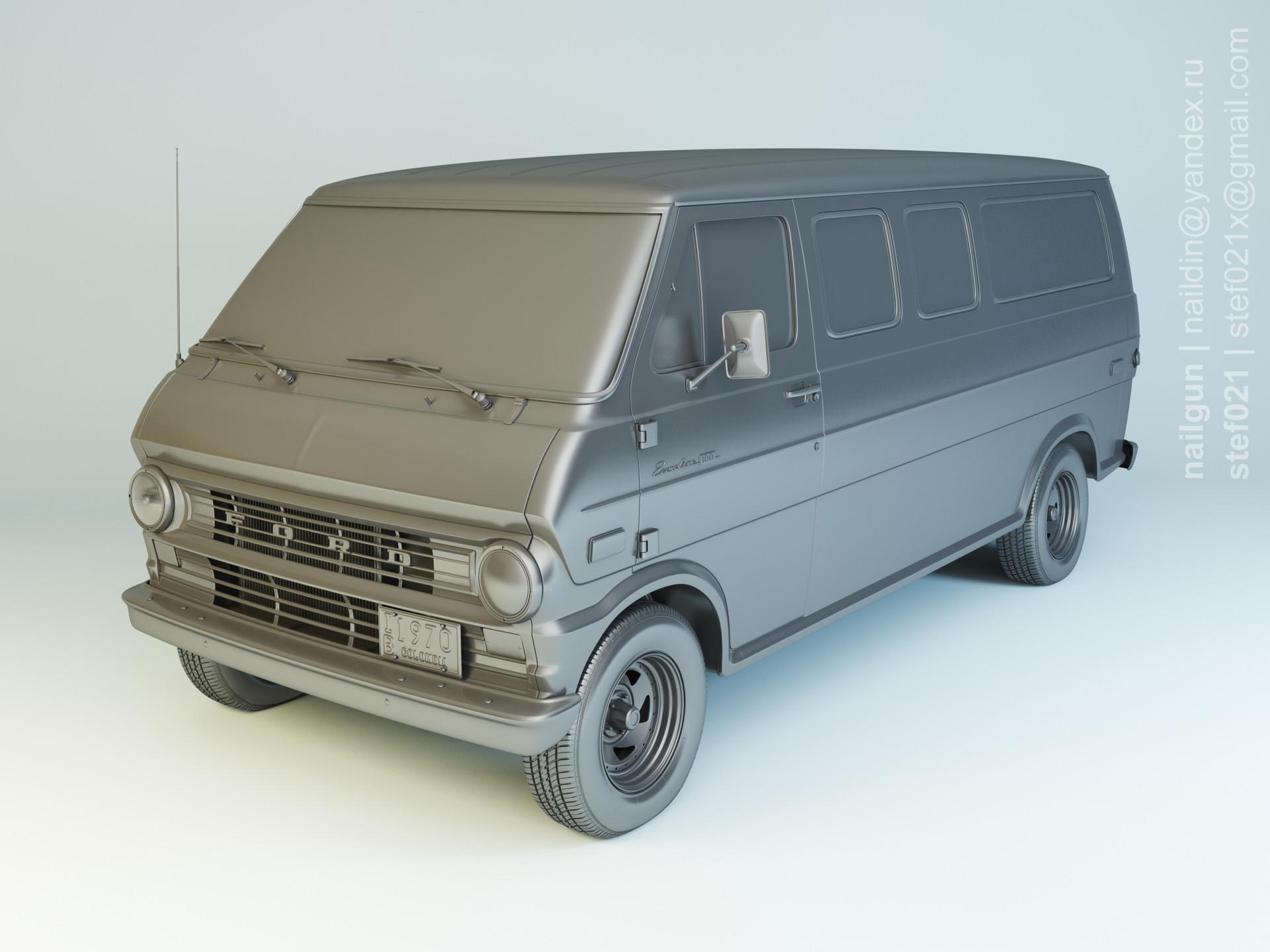 Nail khusnutdinov pwc 069 000 ford econoline modelling 0