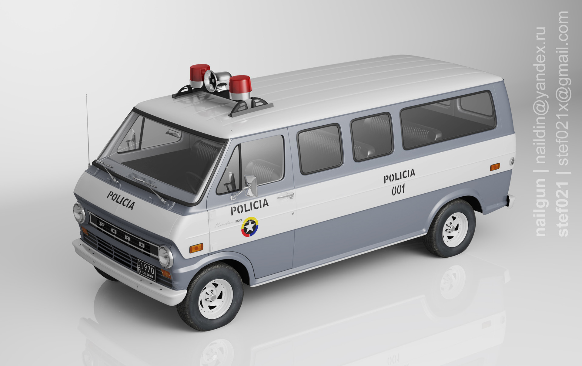 Nail khusnutdinov pwc 069 000 ford econline 72 miniature