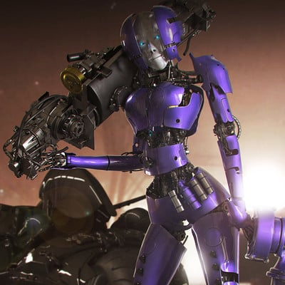 Ying te lien girl robot4