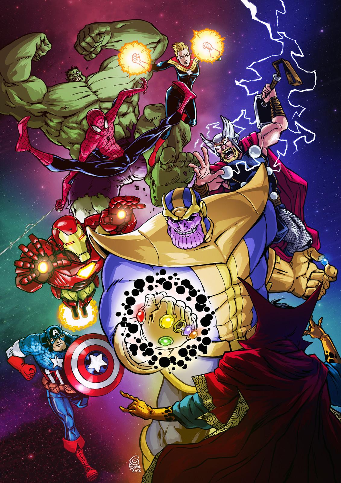Avengers & the Infinity gauntlet