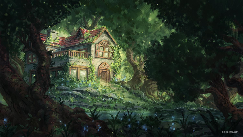Jorge jacinto forest house