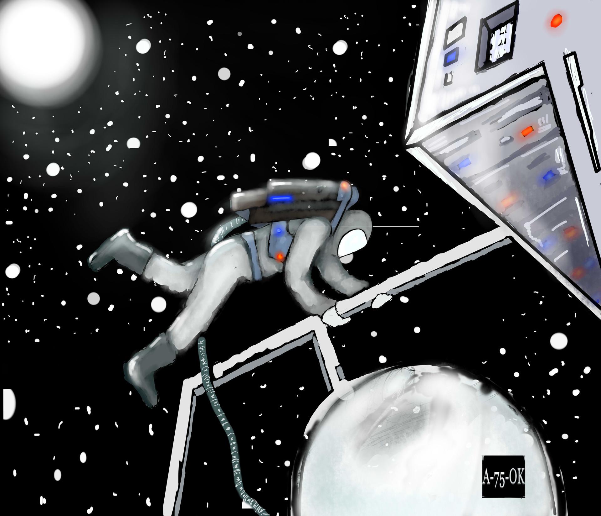 Antonio reyes nuno en el espacio