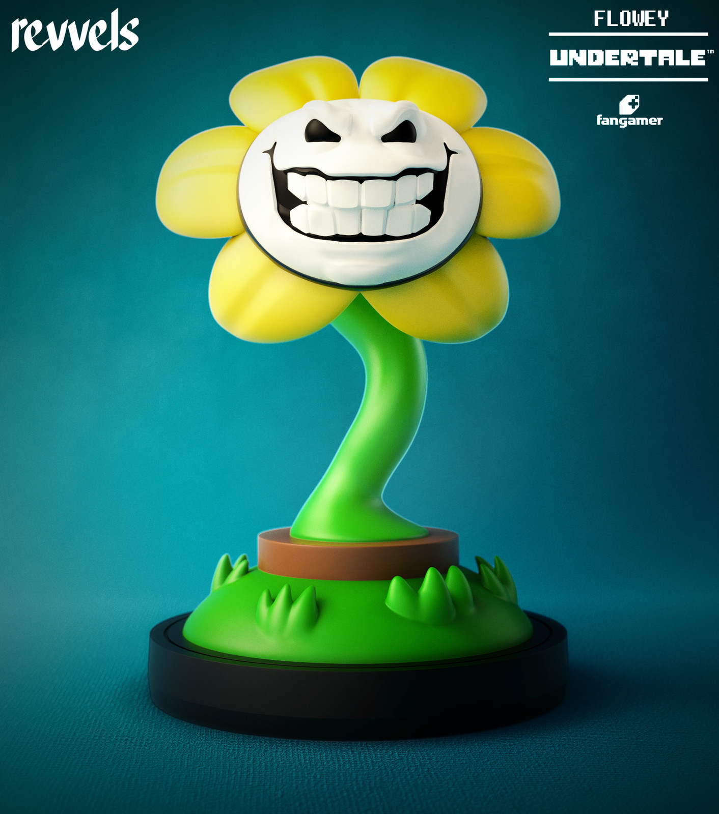 One of the 6 interchangeable faces that comes with the figure :)