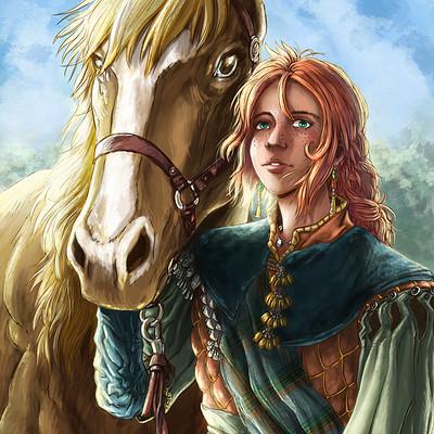 Axelle bouet lisa cheval final