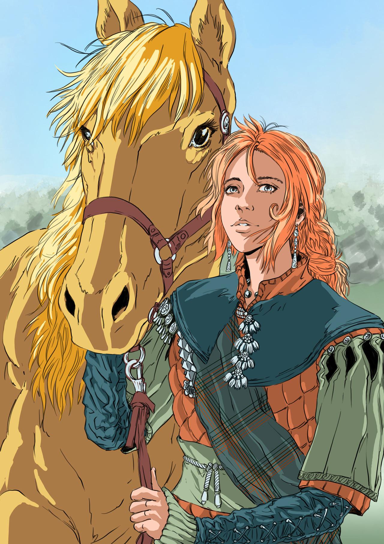 Axelle bouet lisa cheval4