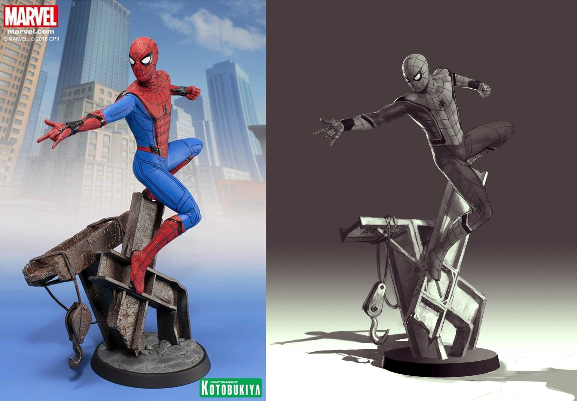 Rodrigo idalino spiderman homecoming concept