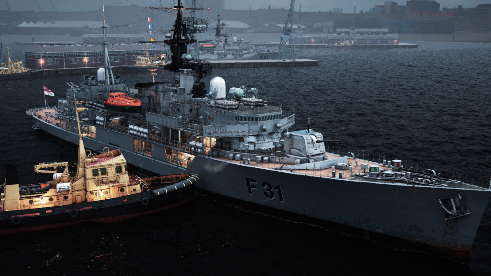 HMS Havok 01 (3ds Max)