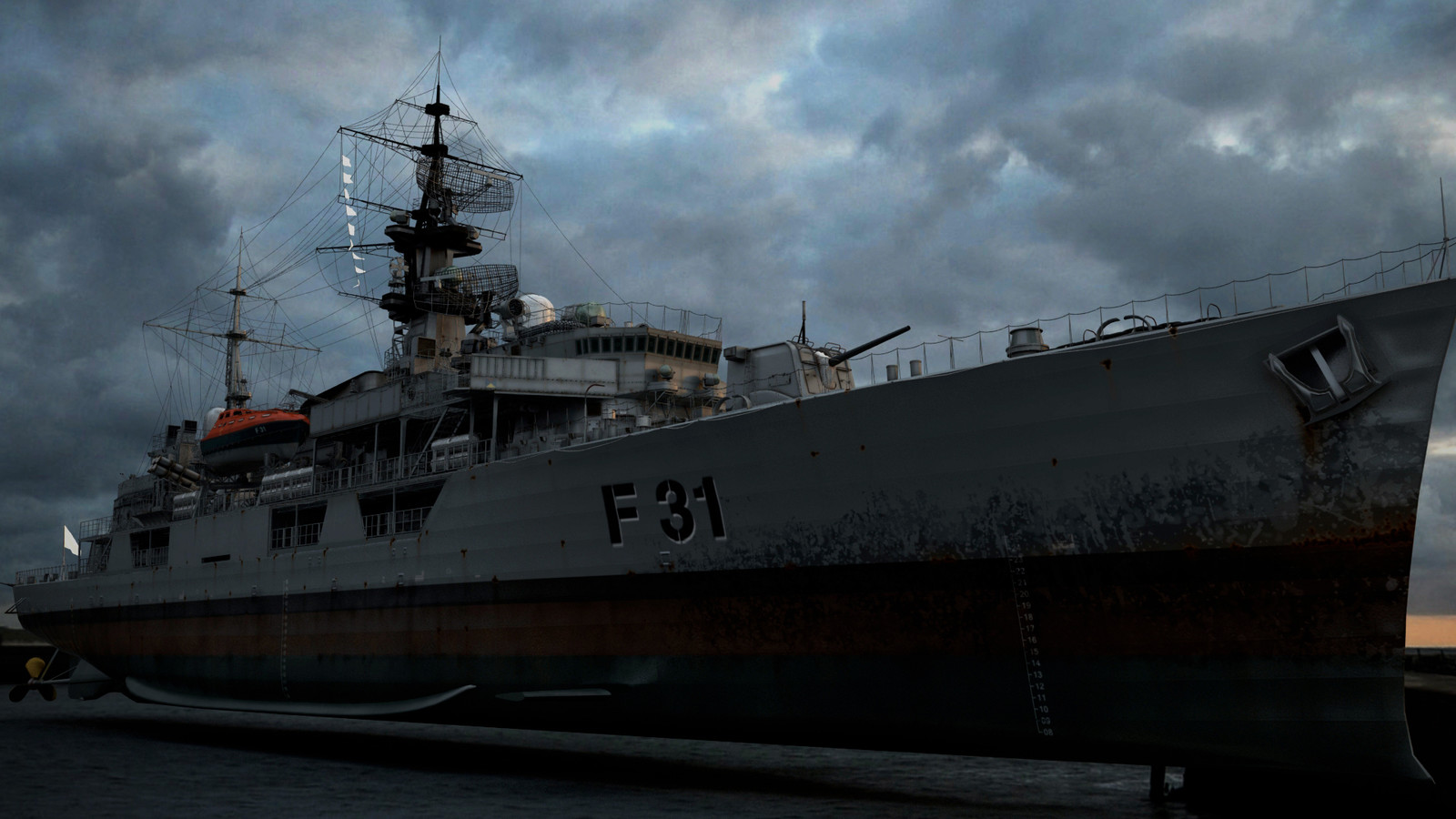 HMS Havok 04 (Maya, Sibl GUI)