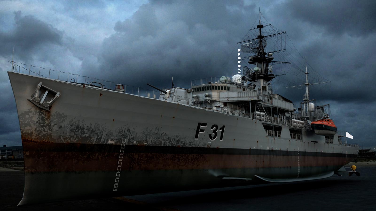HMS Havok 03 (Maya, Sibl GUI)