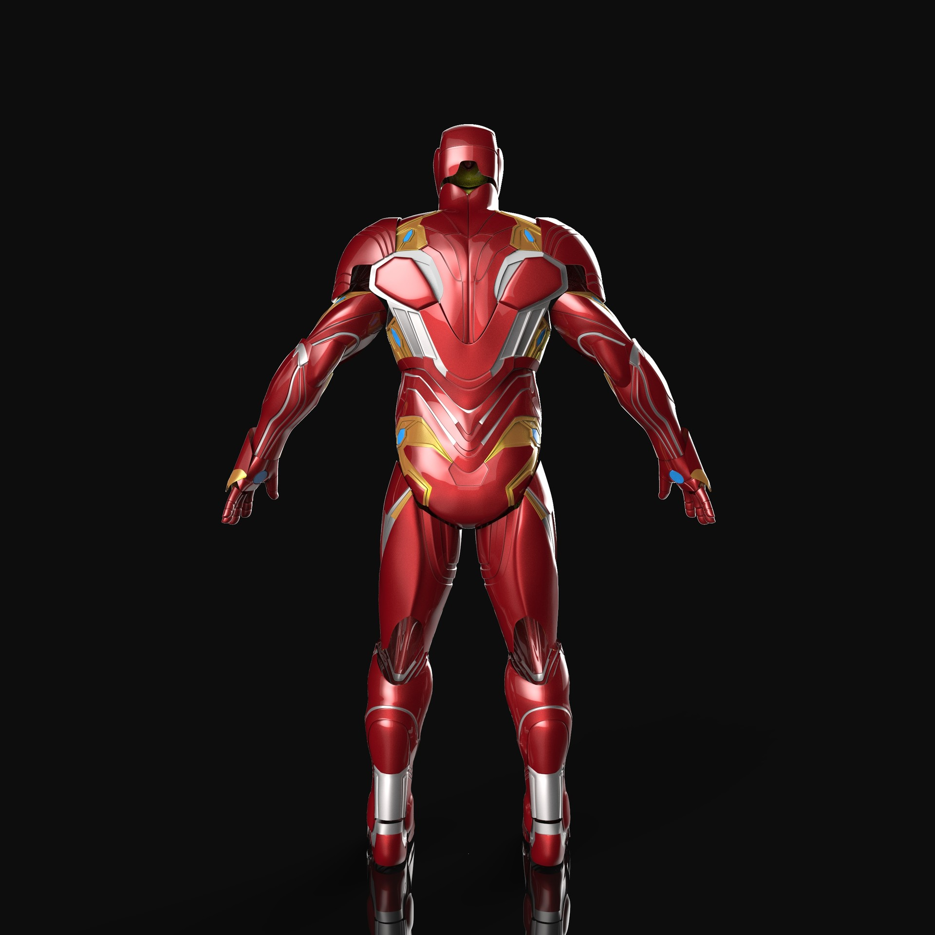 ArtStation - Infinity War Iron Man Cosplay Suit for 3d printing ...