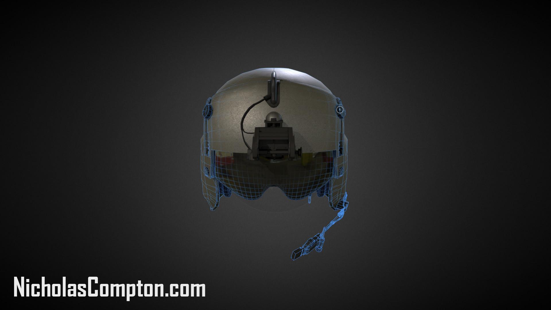 Nick compton helmet