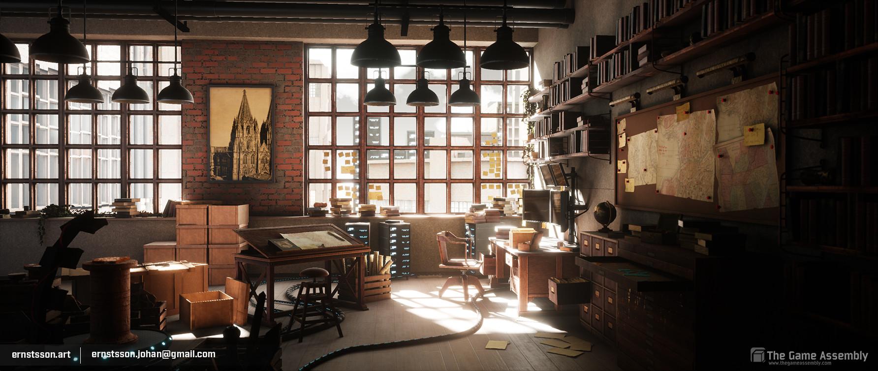 Johan ernstsson studio 1