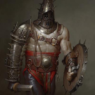 Anton solovianchyk solovianchyk gothic gladiator executioner