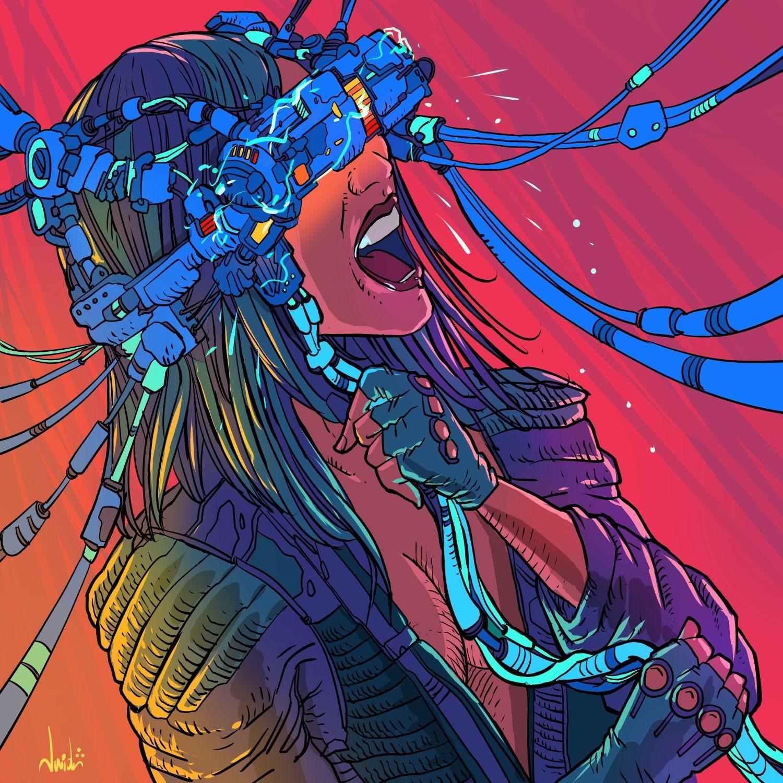Joao antunes jr antunesketch colorcybercitypunk copix