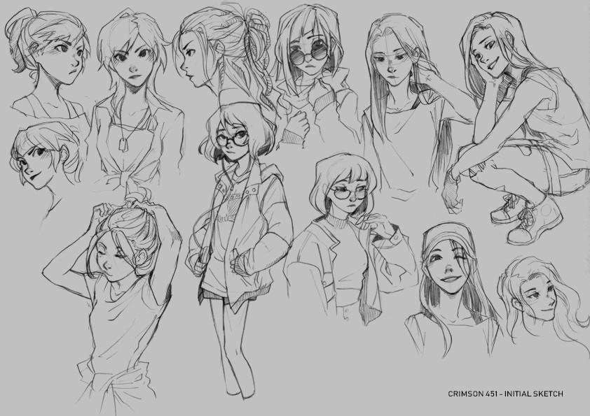 Ann maulina sketch