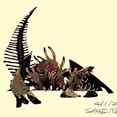 Satoshi matsuura 2018 04 01 dragon zombie