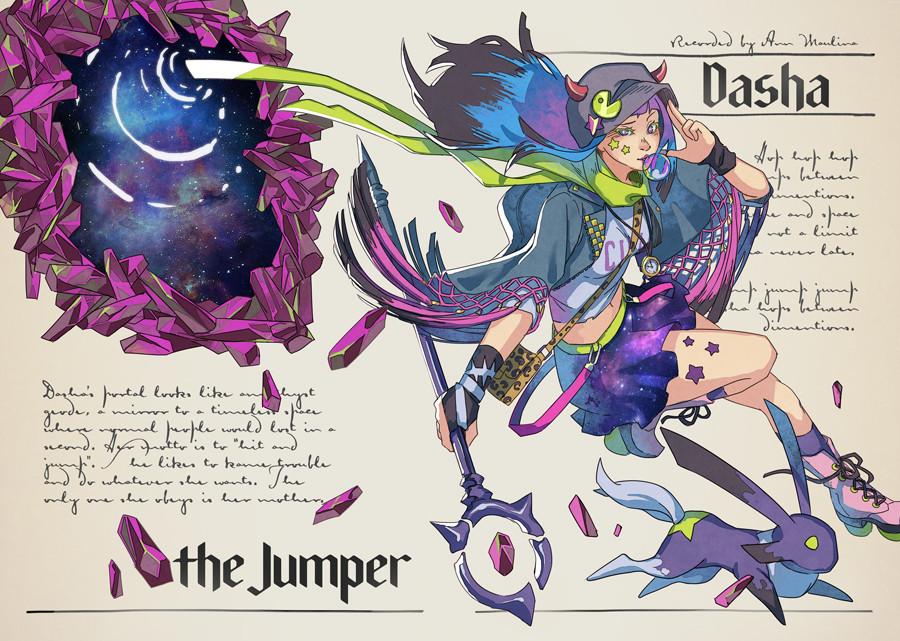 Dasha the Dimension Jumper