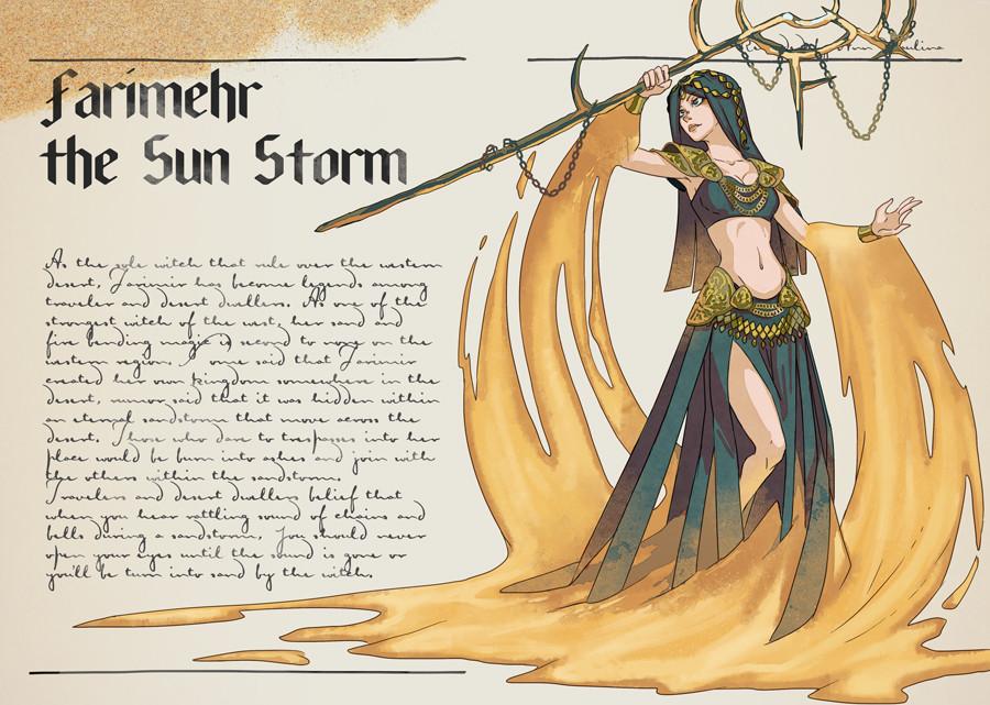 Farimehr the Sun Storm