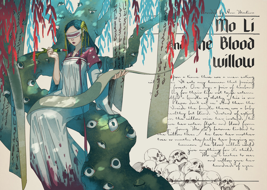 Mo Li and the Blood Willow