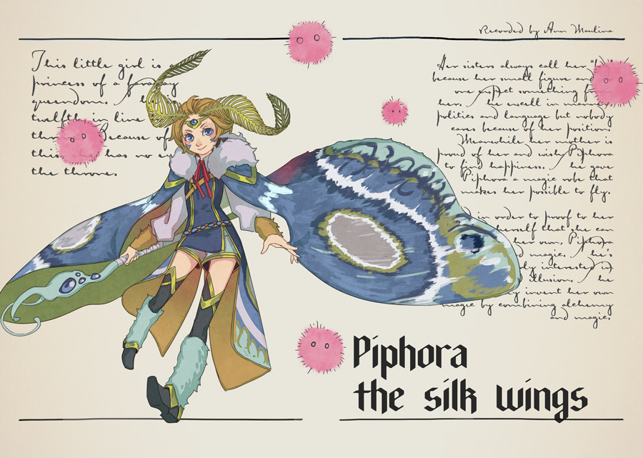 Piphora the Silk Wings