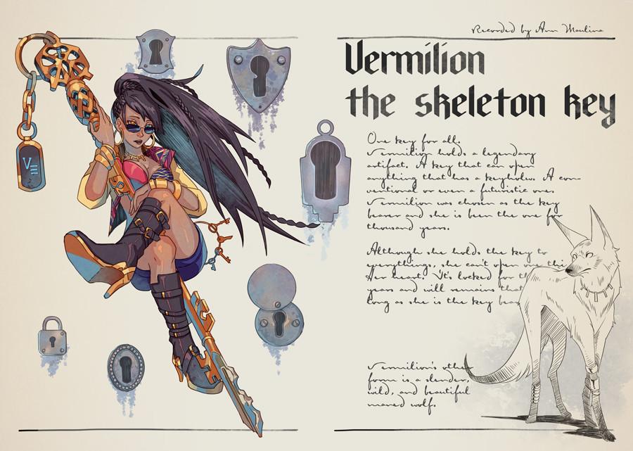 Vermilion the Skeleton Key