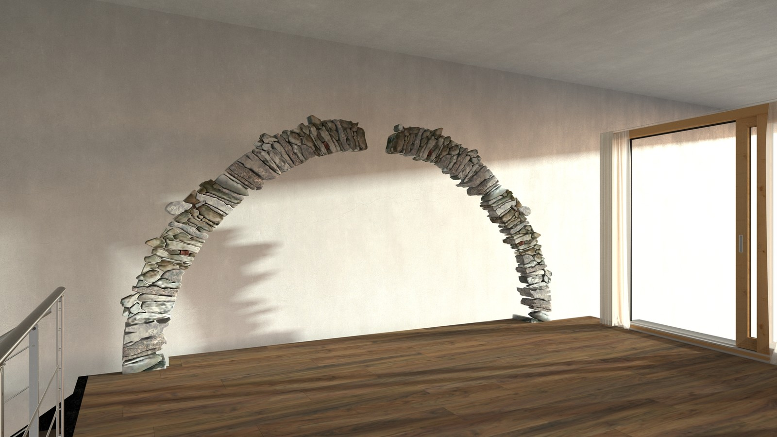 Rivendell Salon Arch Demo-Scene 120