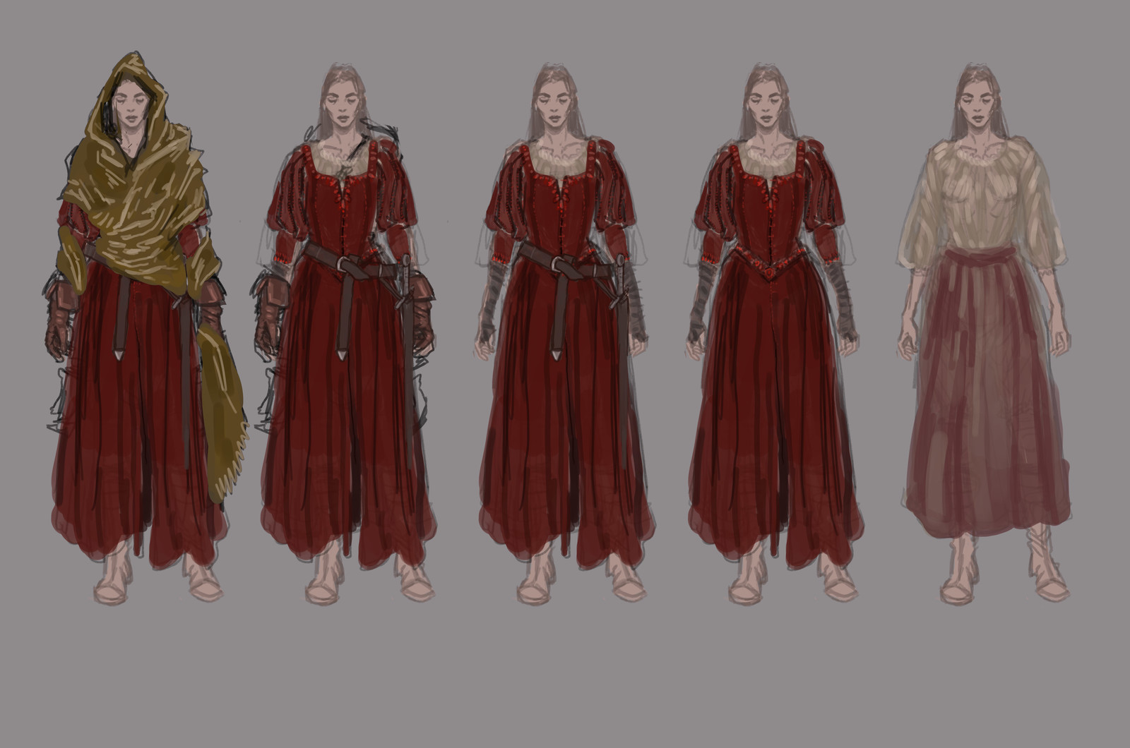 costume design for my character Serah