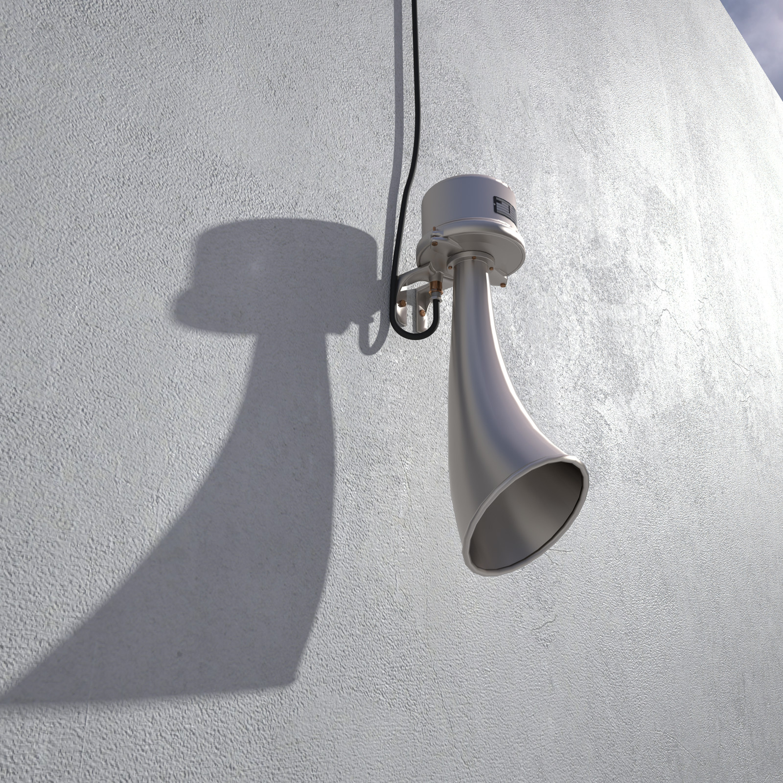 SketchUp  Rivendell Mill's Industrial Signal Warehouse Horn  Rivendell Horns 01 Final Scene 07