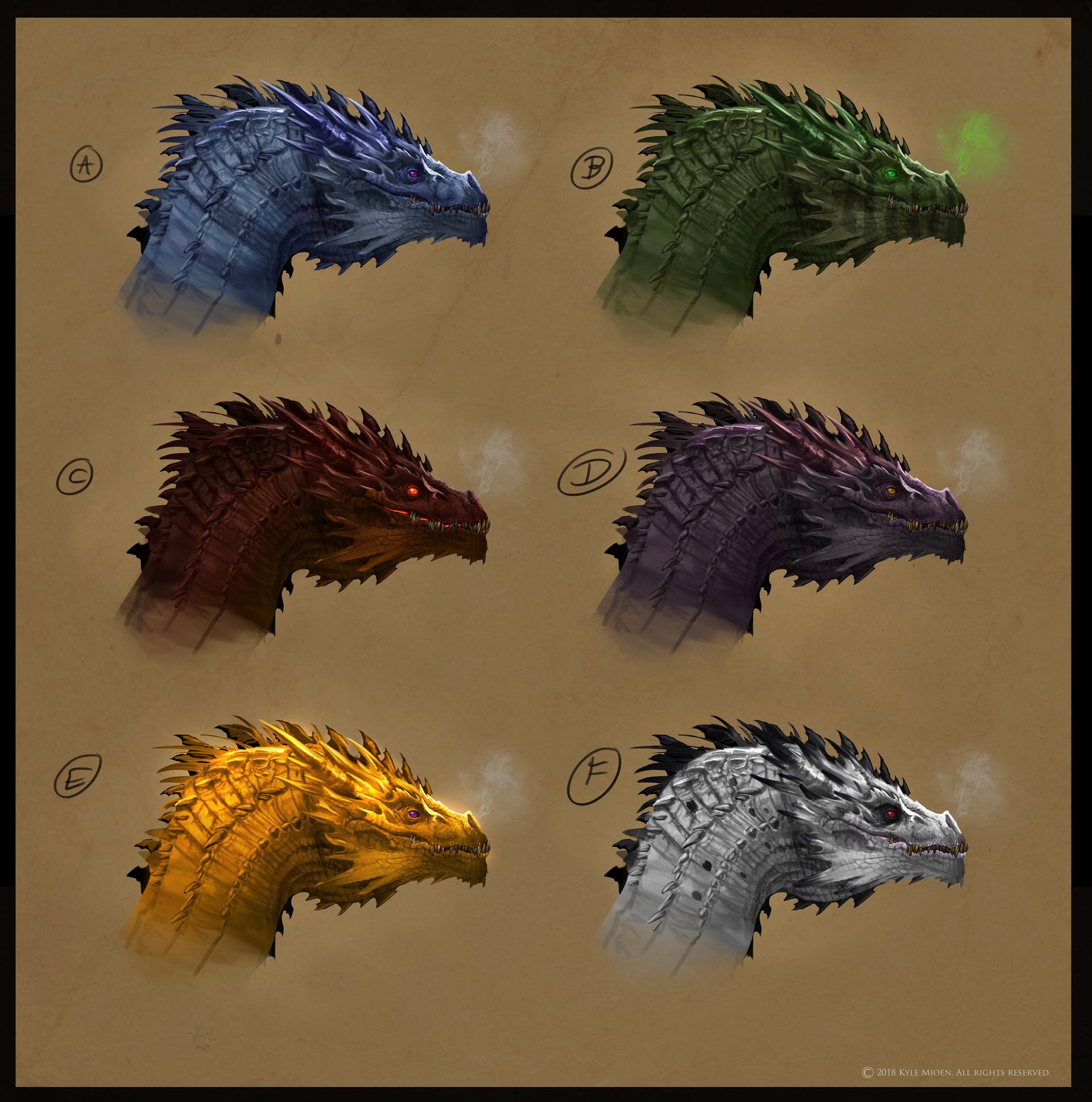Kyle mjoen dragon colors